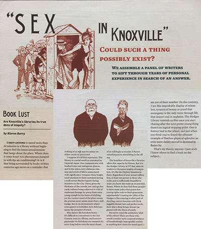 Sex In Knoxville