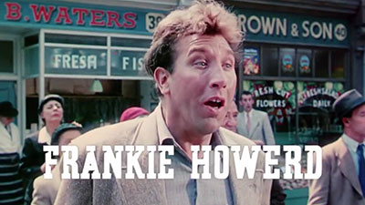 Frankie Howerd breaking the fourth wall