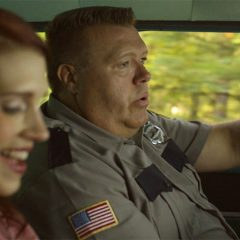 Julie McNiven and Joel McKinnon Miller in the KB-scripted short 'Bluff Point'