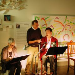 directing a reading in Ventura, California