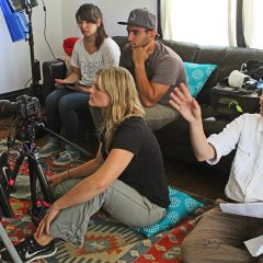 working with cinematographer Casey Stouffer and producer David Medina
